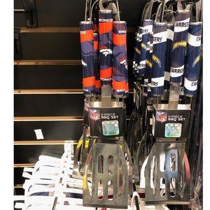 Denver Broncos BBQ Utensil Set
